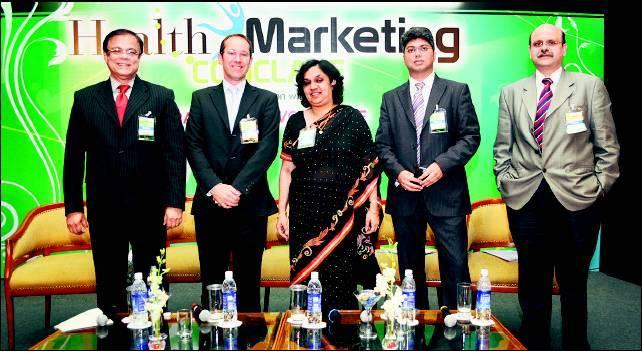 At 'Economic Times' Health Marketing Seminar