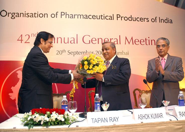 With Mr. Ashok Kumar, Secretary, Department of Pharmaceuticals