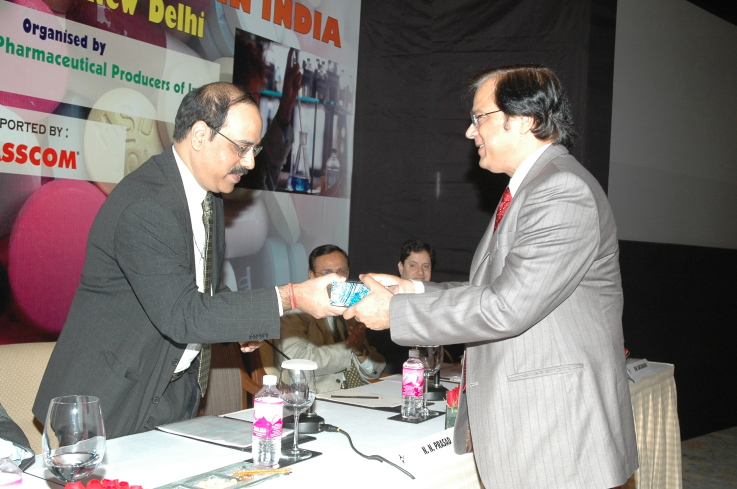 With Mr. Naresh Prasad, JS DIPP
