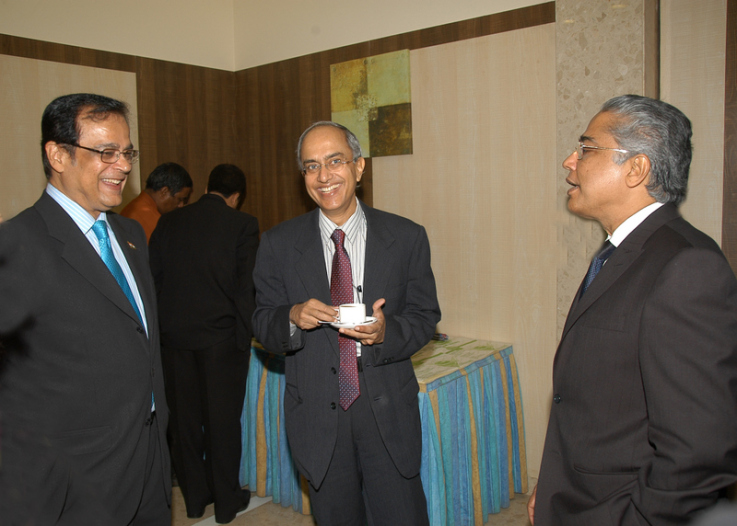With Dr. A. K. Banerjee, NPPA Chairman – 2