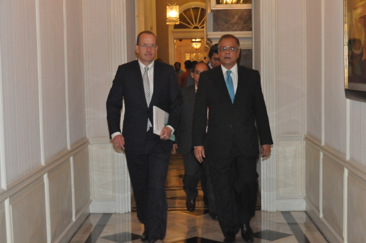 With Andrew Witty, Global CEO, GlaxoSmithKline (GSK), September 27, 2011