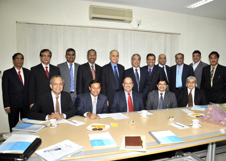With the Managing Directors of Pharmaceutical Companies in India