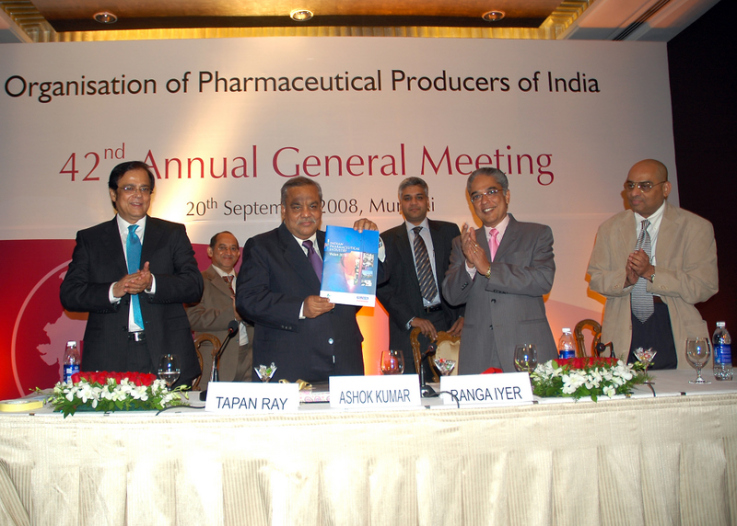 Release of OPPI- Yes Bank report by the Secretary Mr. Ashok Kumar of the Department of Pharmaceuticals, Government of India