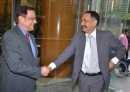 With Mr. Mukul Joshi, Secretary, Department of Pharmaceuticals, Government of India, November 29, 2010