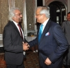 With Dr. Sam Pitroda, Mumbai, September 15, 2012