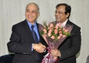 With Ranjit, VC and MD, Novartis