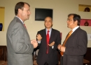 With Mr. Paul Folmsbee, Consul General, USA