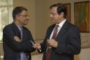 With Shailesh, MD of Sanofi Aventis