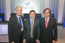 With Ranjit Shahani and Eduardo Pisani at Pentagon City, Virginia, USA. November 10, 2010