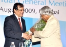 Welcoming former President of India Dr. Abdul Kalam